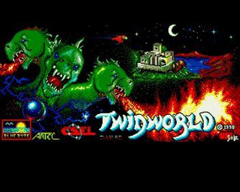 Twin World - Screenshot - Game Title