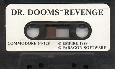 The Amazing Spider-Man and Captain America in Dr. Doom's Revenge! - Cart - Front