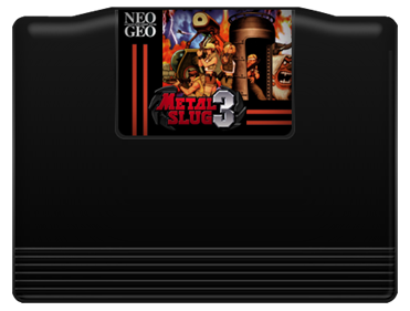 Metal Slug 3 - Fanart - Cart - Front