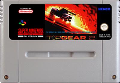 Top Gear 2 - Fanart - Cart - Front