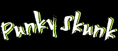 Punky Skunk - Clear Logo