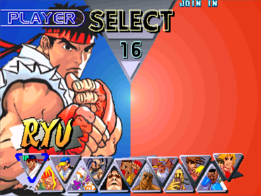 Street Fighter III 2nd Impact: Giant Attack - Screenshot - Game Select