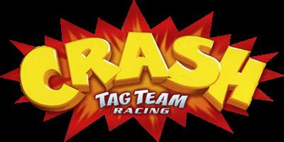 Crash Tag Team Racing - Clear Logo
