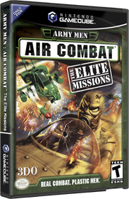 Army Men: Air Combat: The Elite Missions - Box - 3D