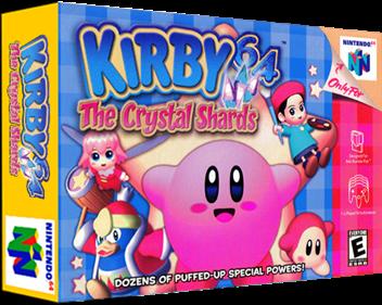 Kirby 64: The Crystal Shards - Box - 3D