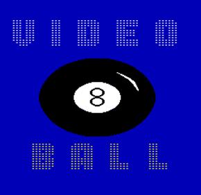 Video Eight Ball - Screenshot - Game Title