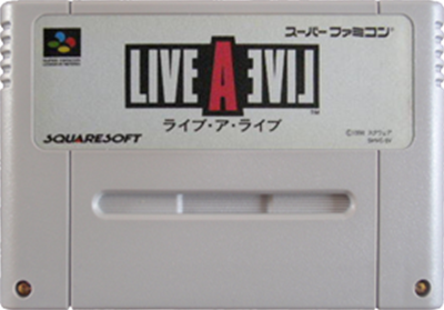 Live A Live - Fanart - Cart - Front