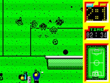 Emilio Butragueno Futbol - Screenshot - Gameplay