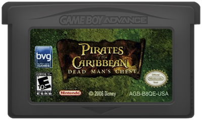 Pirates of the Caribbean: Dead Man's Chest - Cart - Front