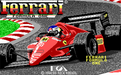 Ferrari Formula One - Screenshot - Game Title