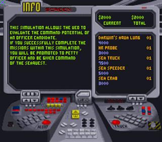 SeaQuest DSV - Screenshot - Gameplay