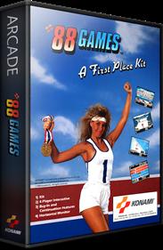 '88 Games - Box - 3D