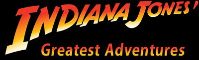 Indiana Jones' Greatest Adventures - Clear Logo