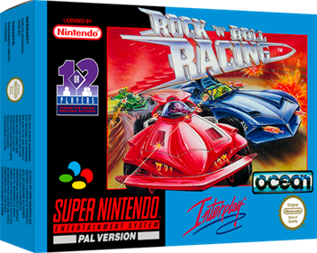 Rock n' Roll Racing - Box - 3D