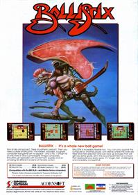 Ballistix - Advertisement Flyer - Front