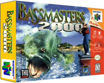 Bassmasters 2000 - Box - 3D