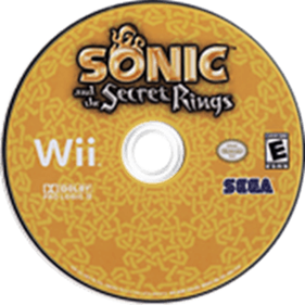 Sonic and the Secret Rings - Disc
