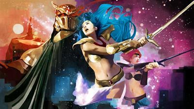 Valis: The Fantasm Soldier II - Fanart - Background