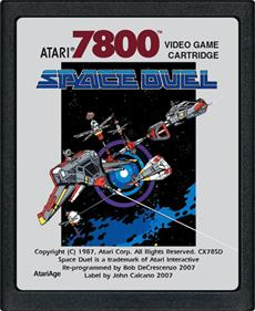 Space Duel - Cart - Front
