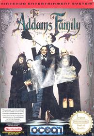 The Addams Family - Box - Front