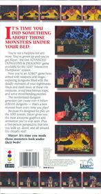 Advanced Dungeons & Dragons: Slayer - Box - Back