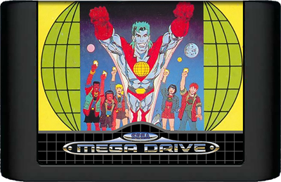 Captain Planet and the Planeteers - Cart - Front