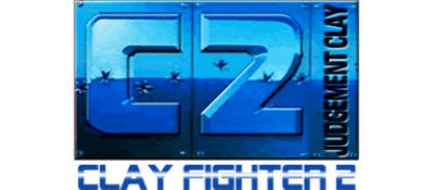 C2 Judgment Clay: Clay Fighter 2 - Clear Logo