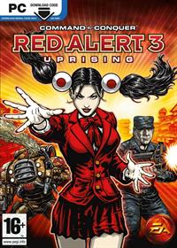Command & Conquer: Red Alert 3: Uprising - Box - Front