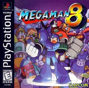 Mega Man 8 - Fanart - Box - Front