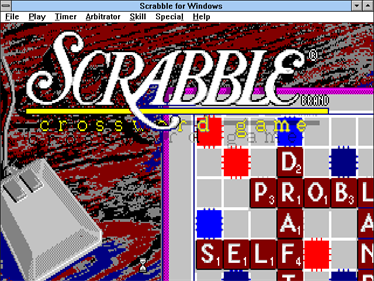 Deluxe Scrabble for Windows - Screenshot - Game Title