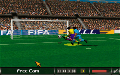 FIFA Soccer 96 - Screenshot - Gameplay