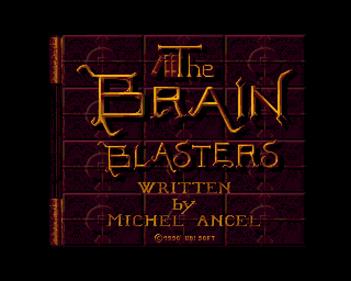 The Brain Blasters - Screenshot - Game Title