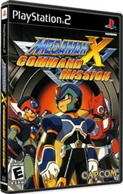 Mega Man X: Command Mission - Box - 3D