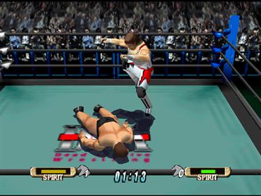 WCW Vs. nWo: World Tour - Screenshot - Gameplay