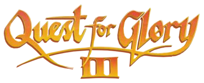 Quest For Glory III: Wages of War - Clear Logo