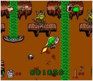 Boogerman: A Pick and Flick Adventure - Screenshot - Gameplay