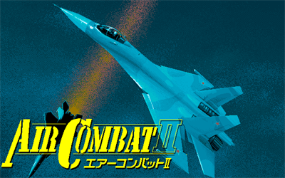 Air Combat II - Screenshot - Game Title