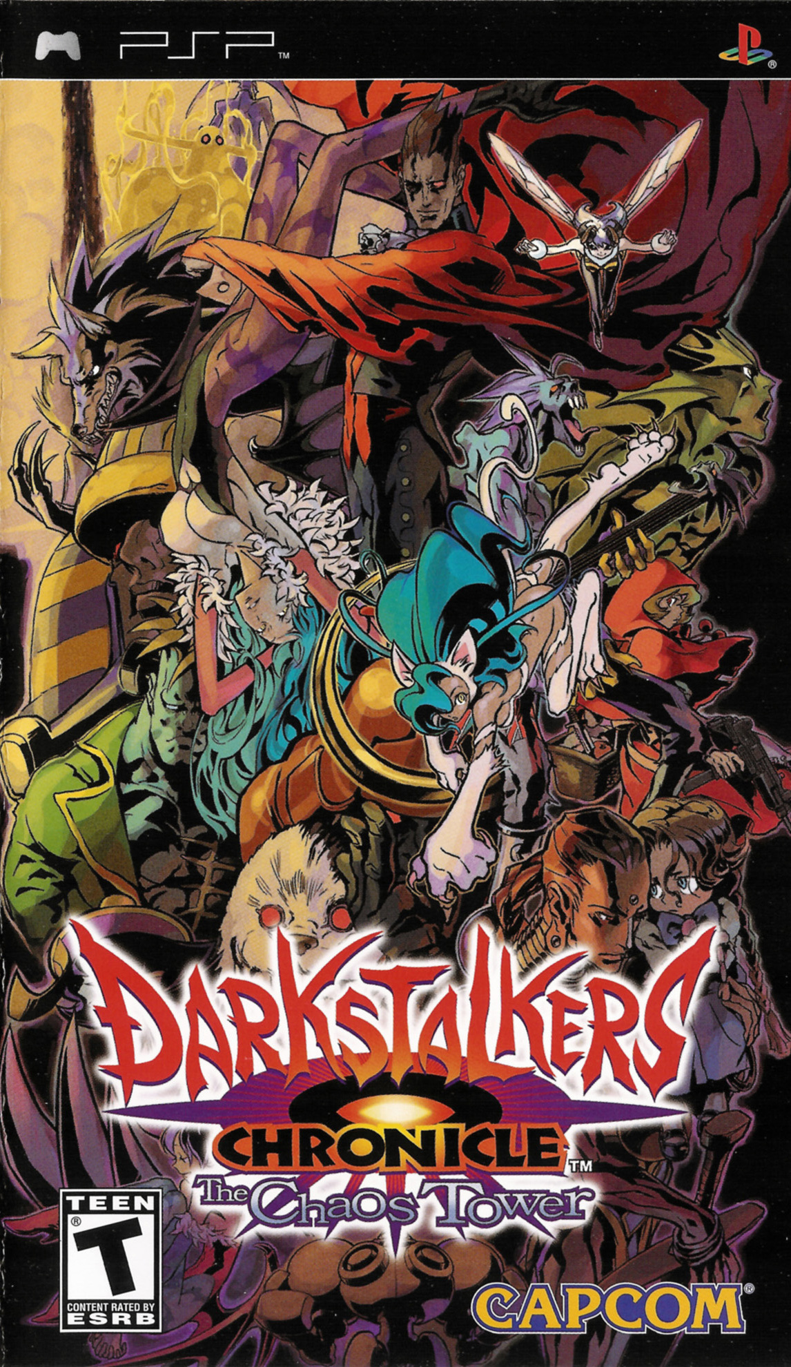 Darkstalkers Chronicle: The Chaos Tower Details ...