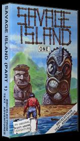 Savage Island Part One - Box - 3D