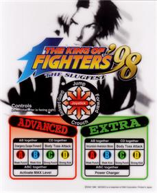 The King of Fighters '98: The Slugfest - Arcade - Controls Information