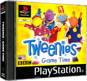 Tweenies: Game Time - Box - 3D