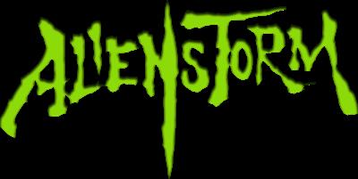 Alien Storm - Clear Logo