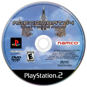 Ace Combat 04: Shattered Skies - Disc