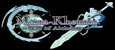 Mana Khemia 2: Fall of Alchemy - Clear Logo