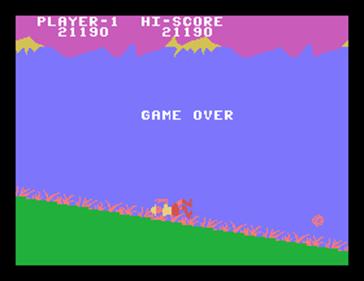 Jungle Hunt - Screenshot - Game Over