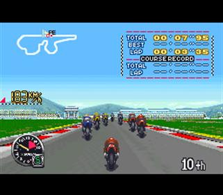 GP-1: Part II - Screenshot - Gameplay