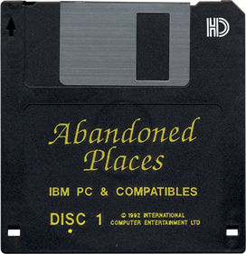 Abandoned Places: A Time for Heroes - Disc