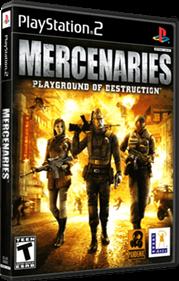 Mercenaries: Playground of Destruction - Box - 3D
