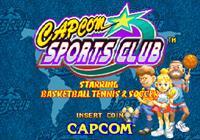 Capcom Sports Club - Screenshot - Game Title