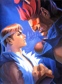 Street Fighter Alpha 2 - Fanart - Background